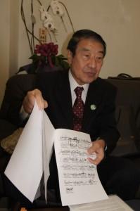 四月下旬、訪米調査を行なった山田正彦元農林水産大臣。(撮影/横田一)