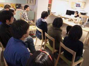 3時間半で延べ16人が発表した。(写真/平井康嗣)