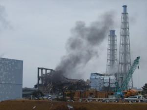福島第一原子力発電所3号機(2011年3月21日、提供/東京電力)