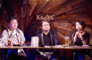 5月23日、東京・新宿にて。左から木瀬貴吉さん、木村元彦さん、清水檀さん。(写真/福田優美)