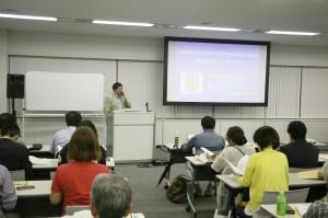 神奈川県保険医協会の講座では医師らから共通番号制度への不安や批判が出された。(撮影/小石勝朗)
