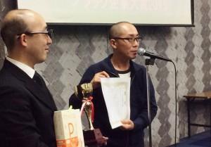 「ブラック企業大賞2015」発表記者会見。11月29日、都内会場。(撮影/古川琢也)
