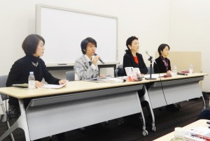 BLARと「のりこえねっと」による共同記者会見。(12月21日、参議院議員会館。撮影/松岡瑛理)