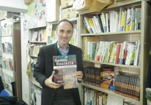 ジェフリー・M・スミスさん。『遺伝子組み換えルーレット』DVDはアジア太平洋資料センターより発売。(写真/渡辺妙子)