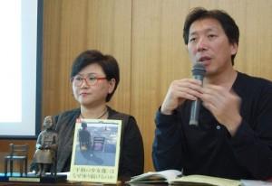 キム・ソギョンさん(左)、キム・ウンソンさん。(撮影/木村嘉代子)