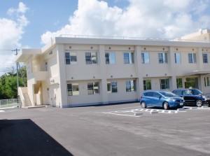 8月1日から業務開始の防衛局辺野古事務所。CSSに家賃等を払い続ける。(撮影/本誌協力者)