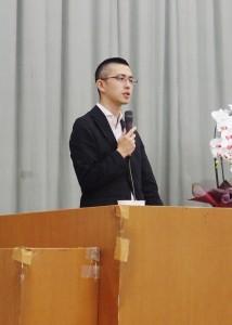 「安保法制と憲法」をテーマに講演する木村草太・首都大学東京教授。(撮影/赤岩友香)