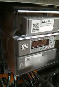 関西電力が設置しているスマートメーター。(提供/アナログメーターの存続を望む会)